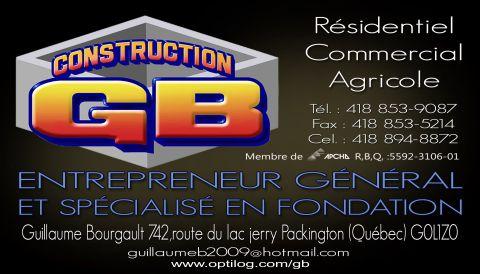 CONSTRUCTION GB 9205-8940 QUÉBEC INC