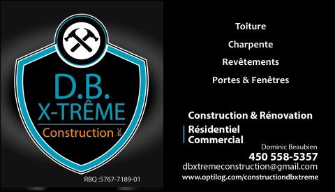 CONSTRUCTION D.B. X-TRÊME INC