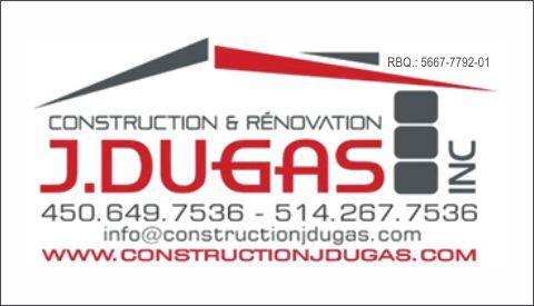 CONSTRUCTION & RÉNOVATION J DUGAS INC