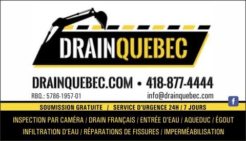 DRAIN QUÉBEC 9416-3862 QUÉBEC INC