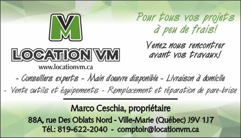 LOCATION V-M 9314-1992 QUÉBEC INC