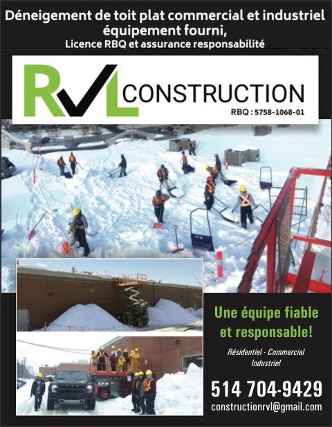 RVL CONSTRUCTION 9380-3393 QUÉBEC INC.