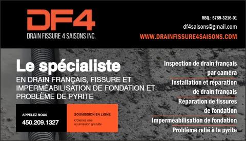 DRAIN & FISSURE 4 SAISONS INC