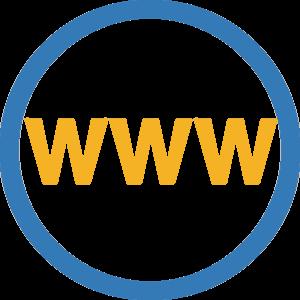 Icône du lien vers site web